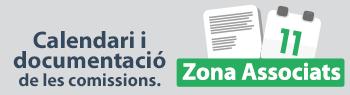 Calendari i documentació de les comissions