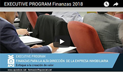 EXECUTIVE PROGRAM Finanzas 2018